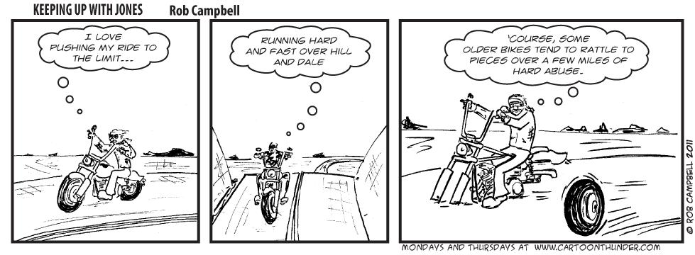 Funny Harley Motorcycle Cartoons
