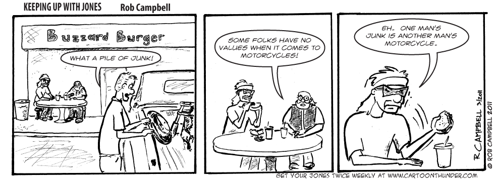 One man's motorcycle