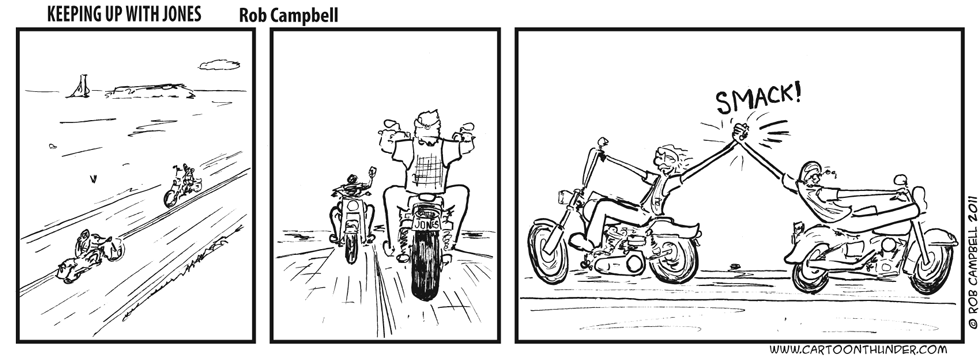 Extreme biker wave
