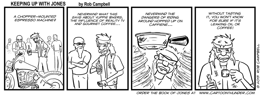 Get a bike hopped up on caffeine